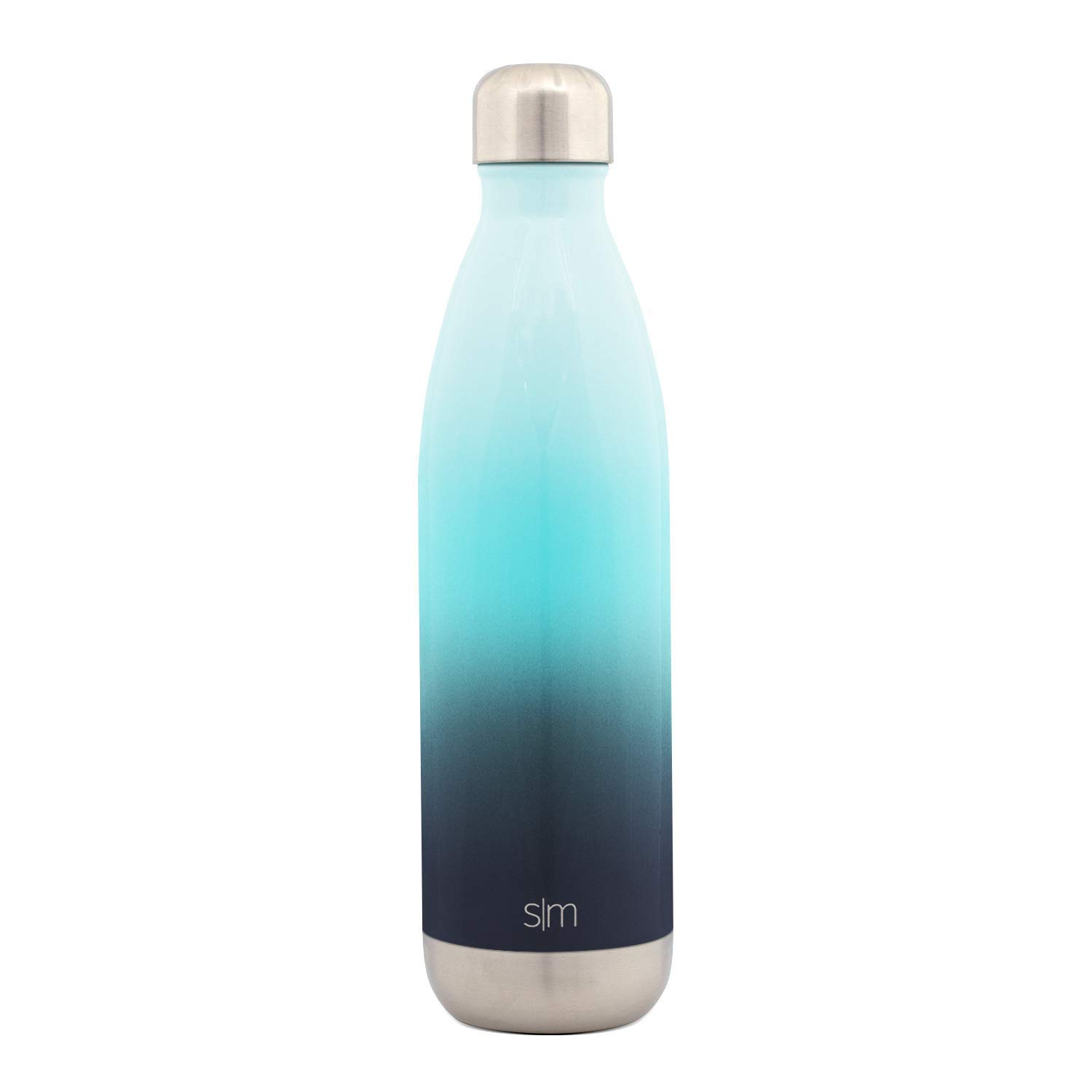 Ombre vacuum seeled double insulated stainless steel water bottle