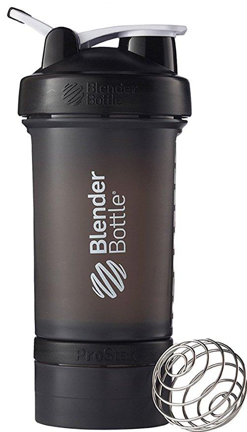 Black Blender Bottle.