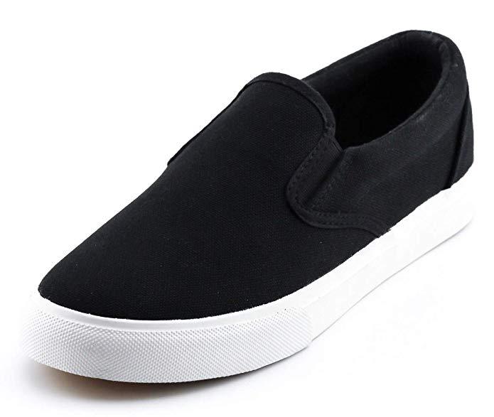 Black women\'s sneakers.