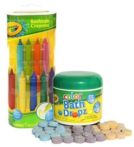 Crayola bathtub crayons.