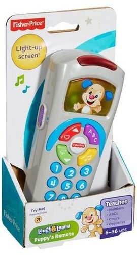 Laugh and Learn toy baby remote stocking stuffer.