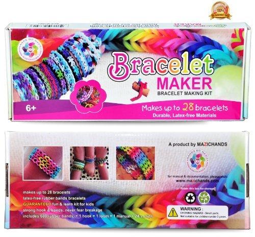 Bracelet maker kit for girls.
