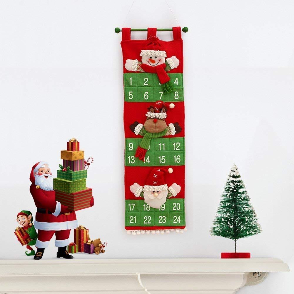 Felt Christmas advent calendar.