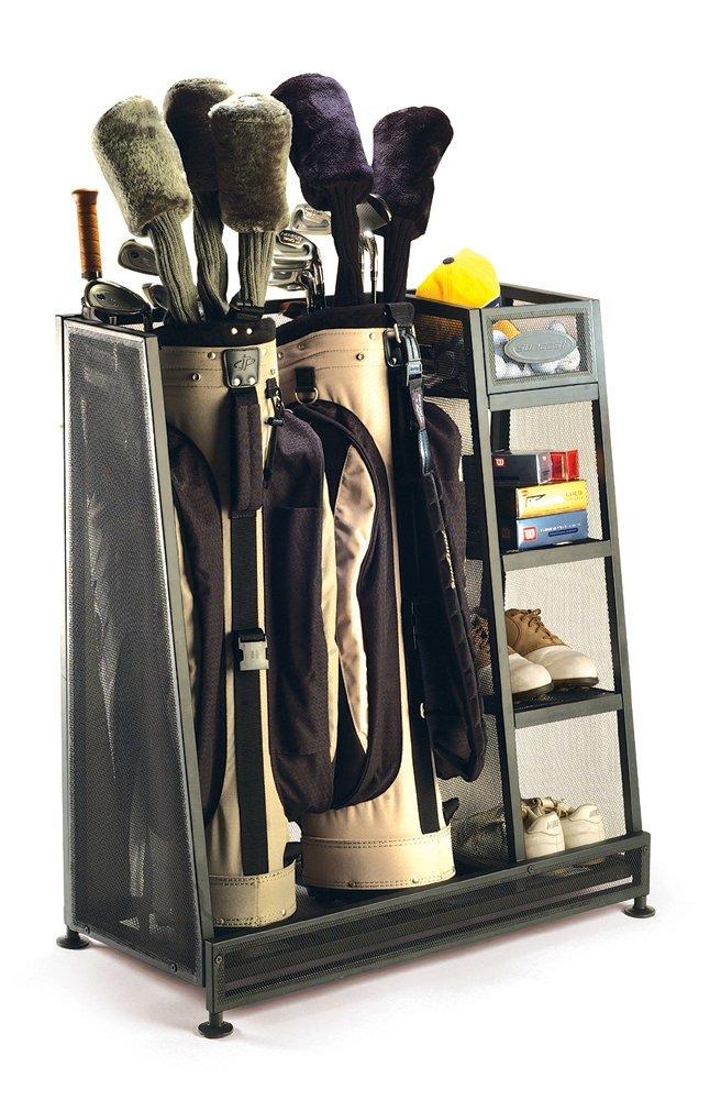 Golf accessories organizer for him.