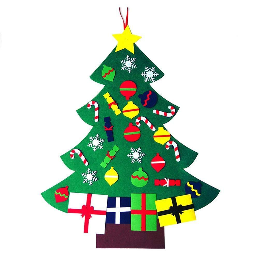 Kids felt Christmas tree.