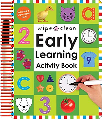 Wipe Clean Early Learning Activity Book.