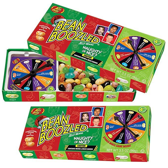 Bean Boozled family game.