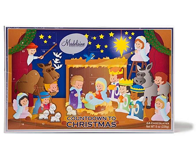 Countdown to Christmas chocolate set.