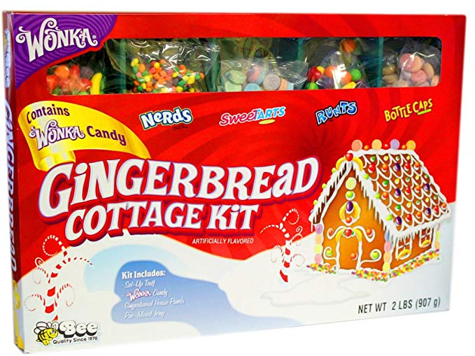 Gingerbread Cottage Kit Christmas activity idea.