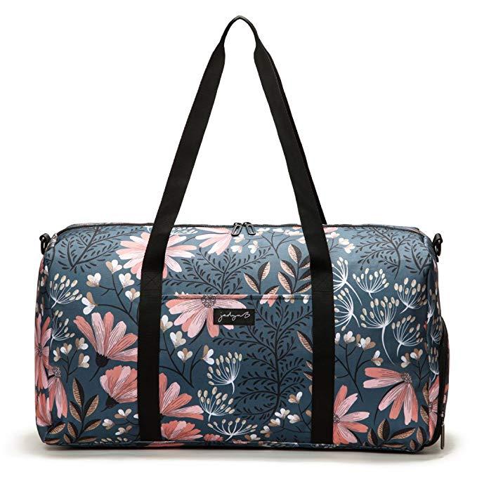 Floral gym bag gift for her.