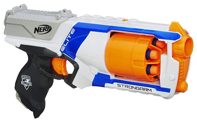Nerf gun Christmas stocking gift.