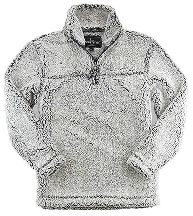 Gray Sherpa women\'s pullover gift idea.