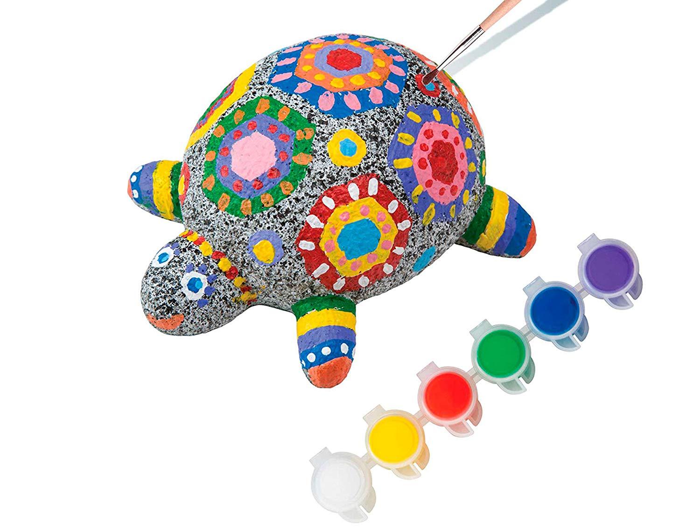 Paintable craft rock pet.