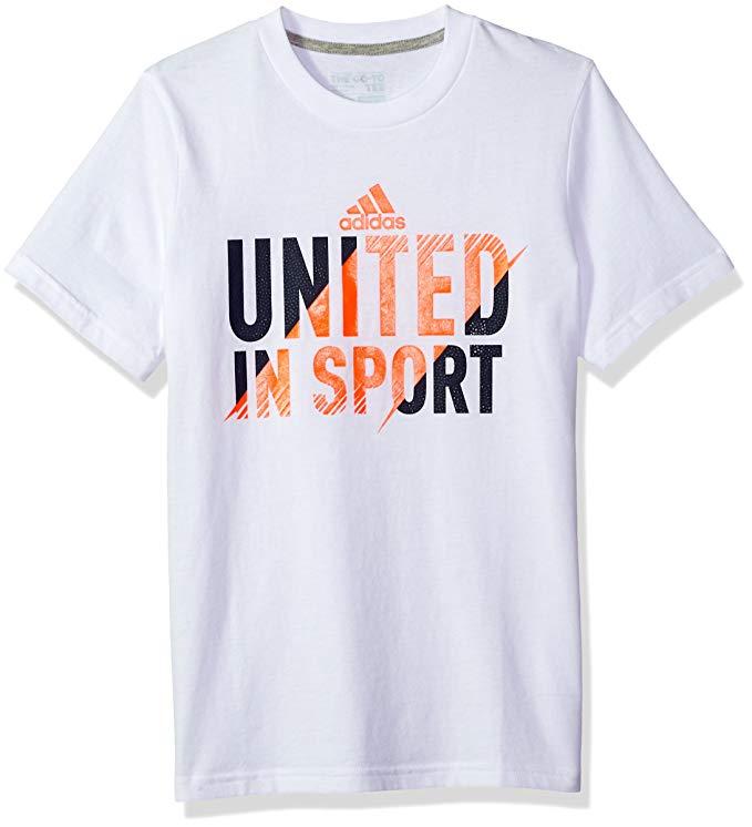"\""United in Sport\"" Adidas T-Shirt."