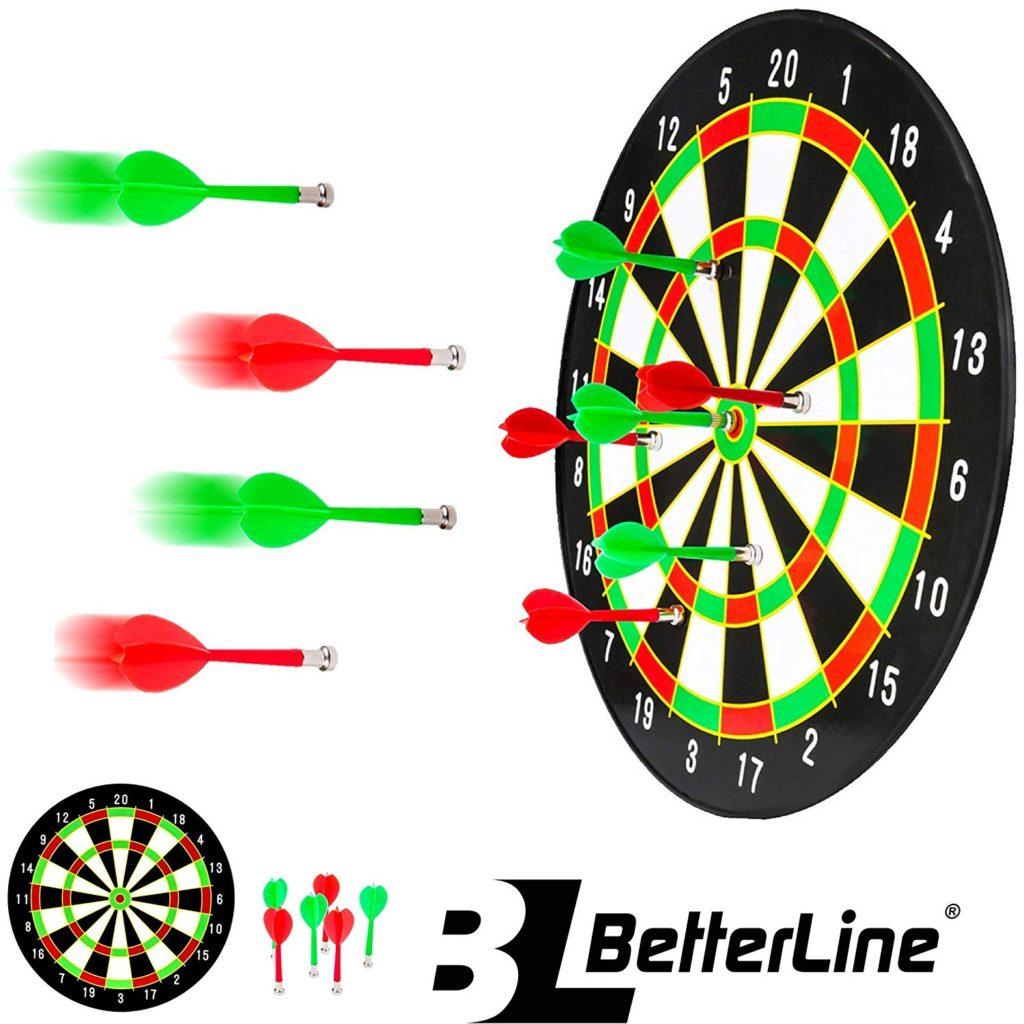Beterline dart board and darts.