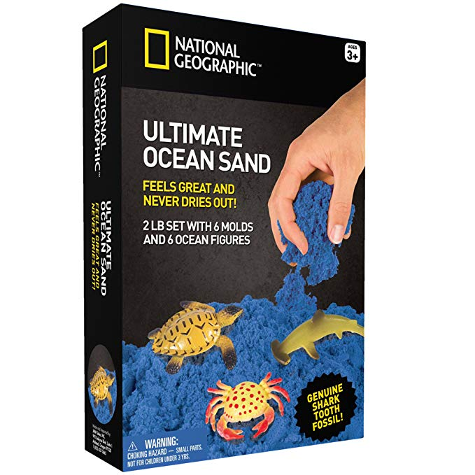 National Geographic Ultimate Ocean Sand for kids.
