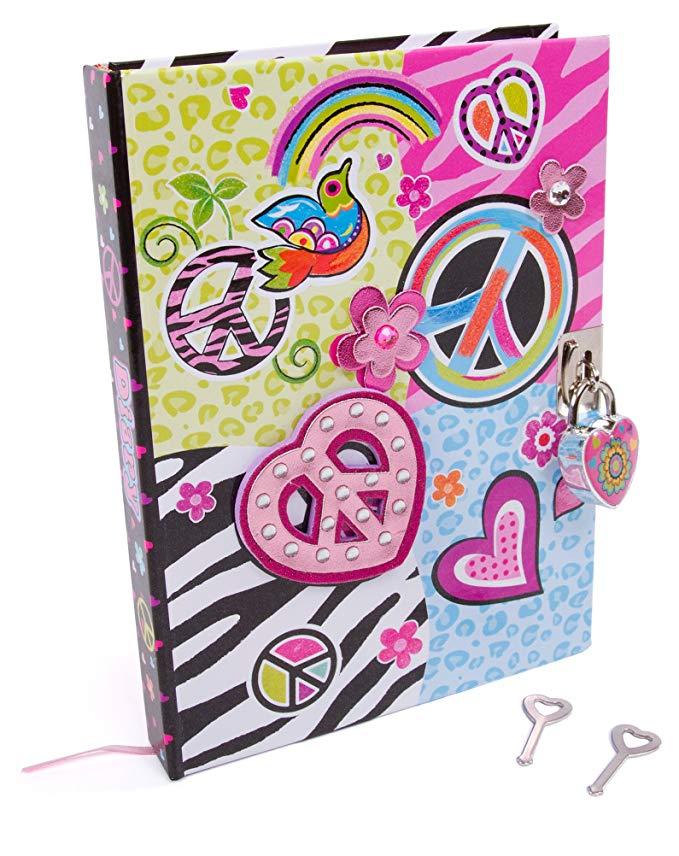 Girly diary with lock.