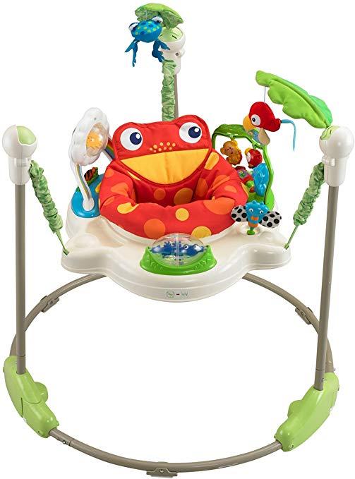 Rainforest Jumperoo gift for babies.