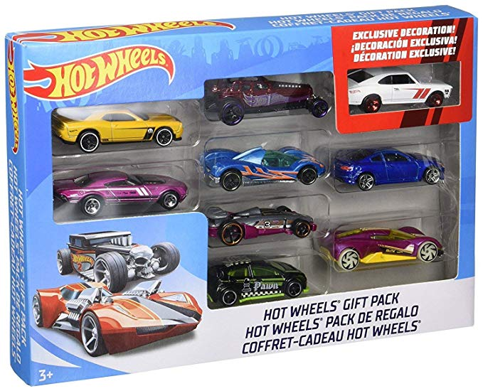 Hot Wheels car set.