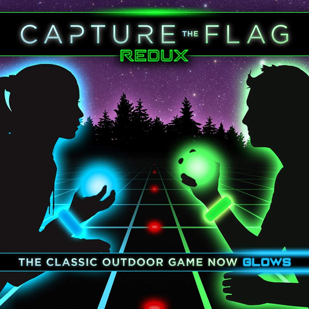Glow in the dark capture the flag kit.