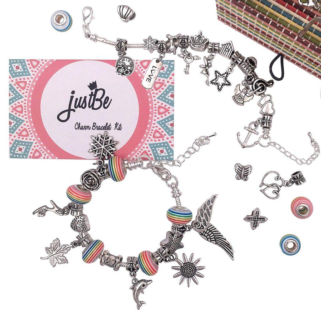 Just Be charm bracelet kit for girls.