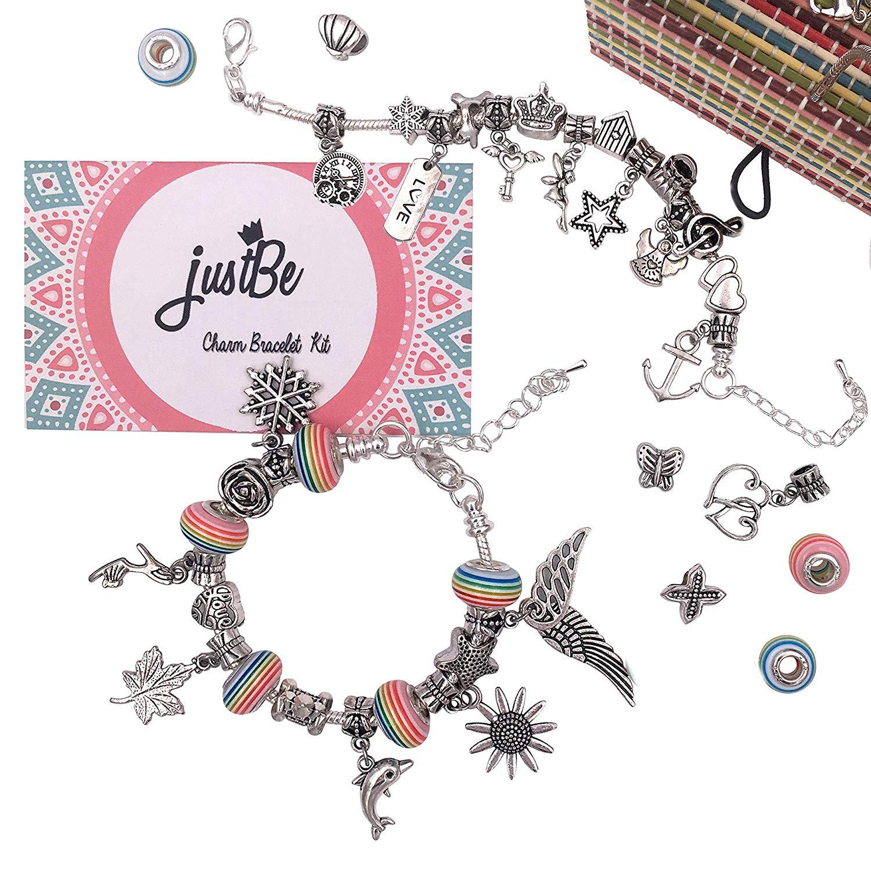 Charm bracelet set for girls.
