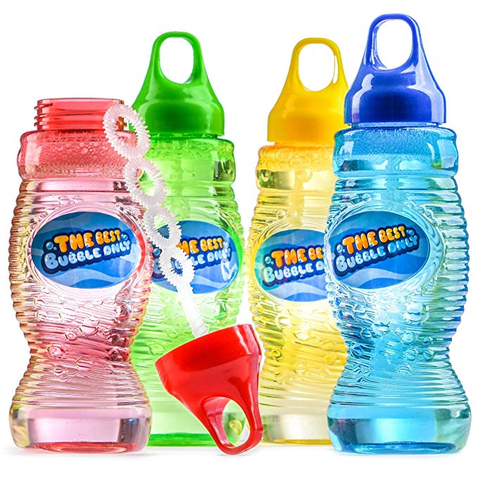 Set of bubbles in various colors.