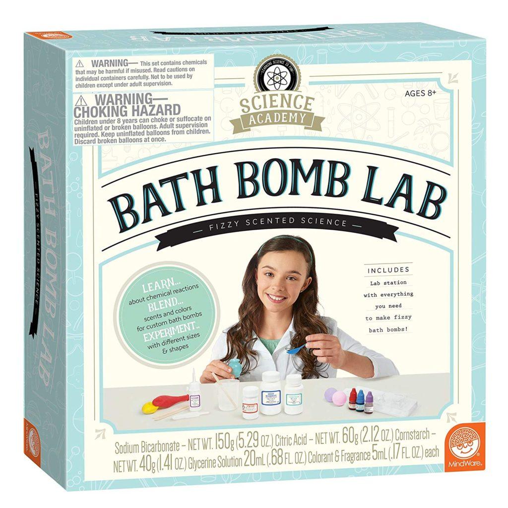 Bath Bomb Lab kit for kids.