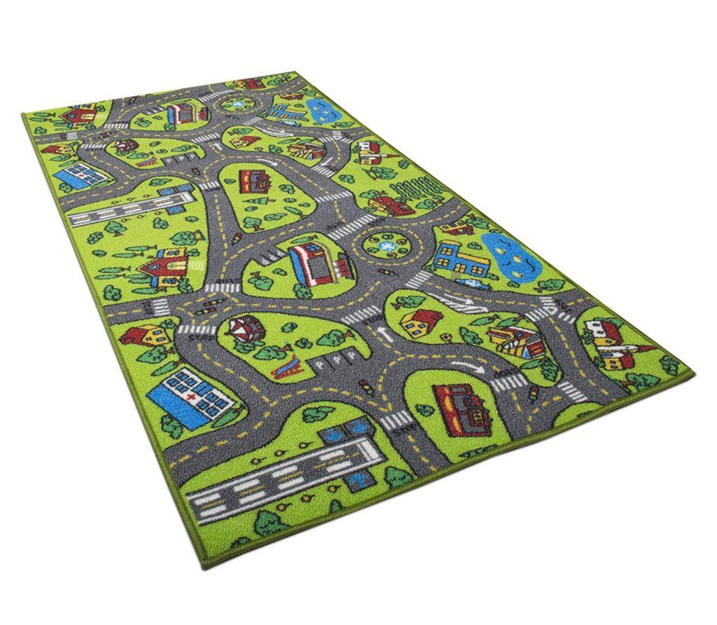 City Life Carpet Playmat Rug.