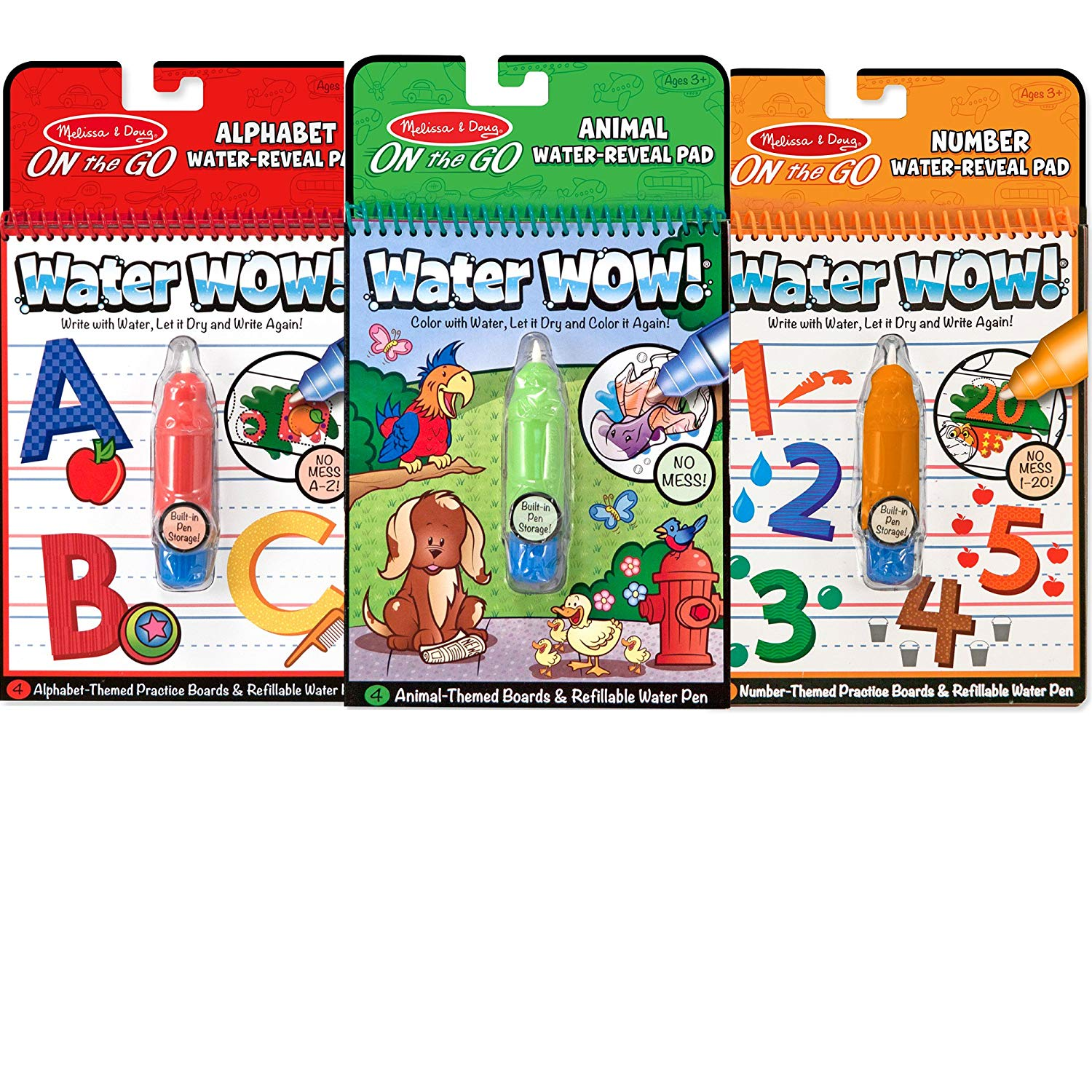 Water Wow doodle pads for kids.