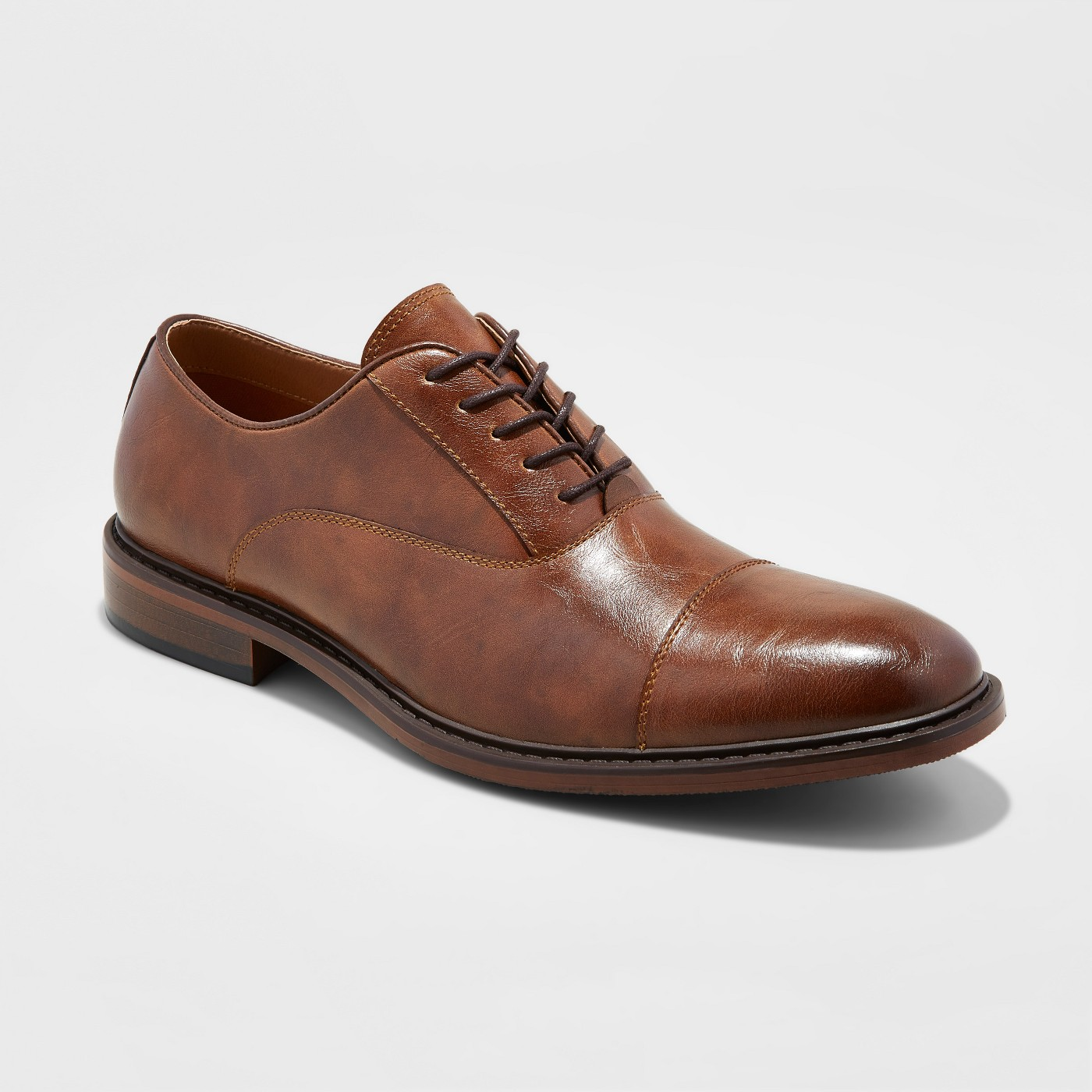 Classic and comfortable men\'s dress shoe.