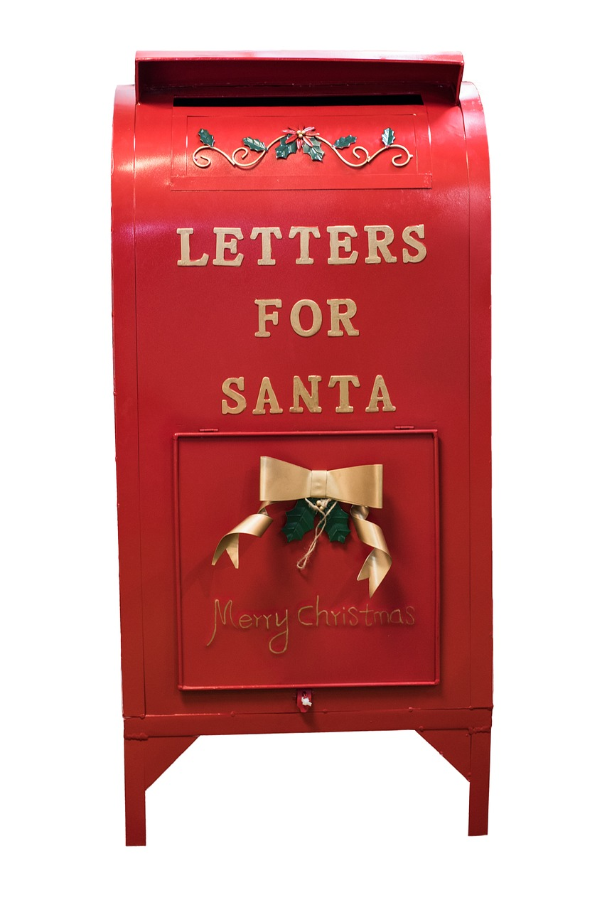 Mailbox for letters to Santa.