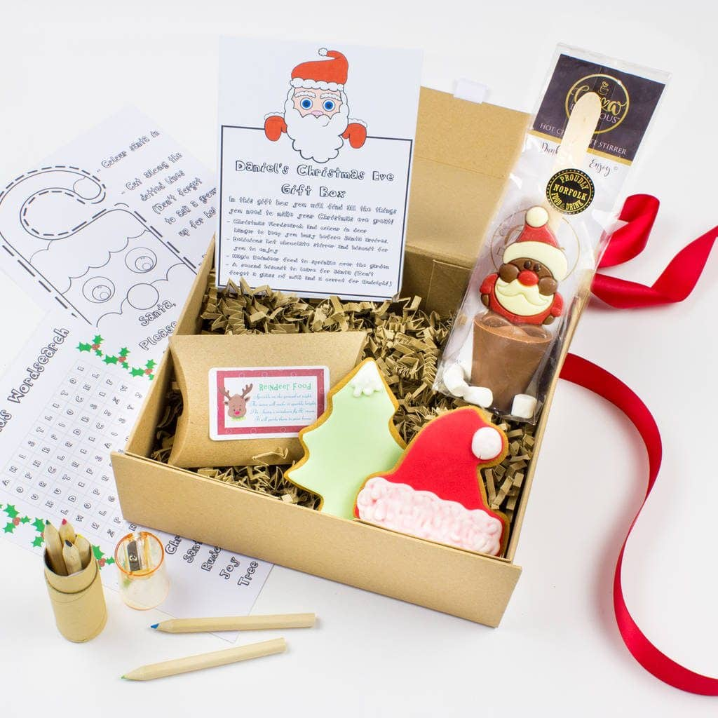 Christmas Eve Christmas box family tradition.