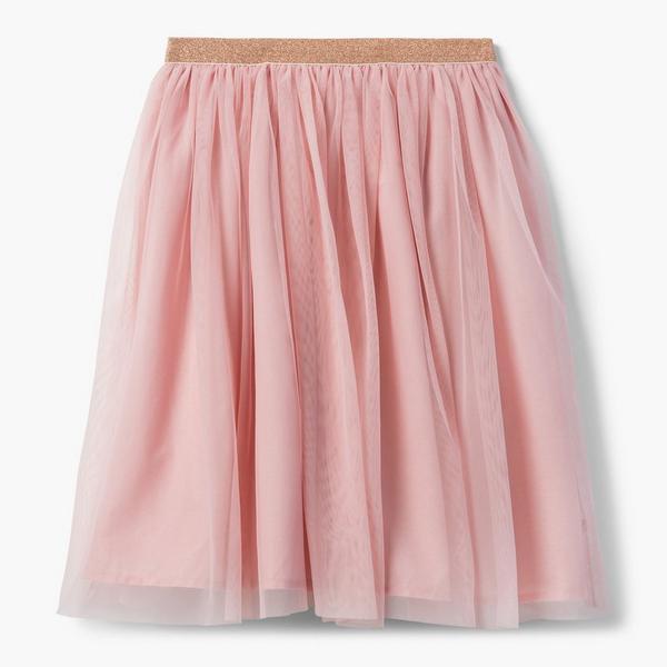 Pink tutu skirt.