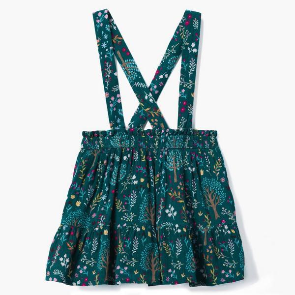 Floral skirt jumper.