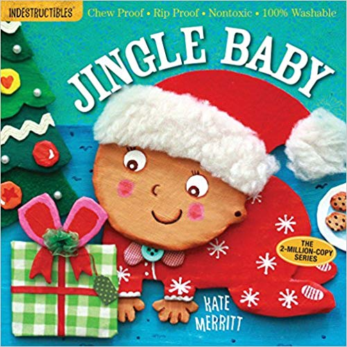 """Book cover for \""""Jingle Baby\"""" children\'s book."""