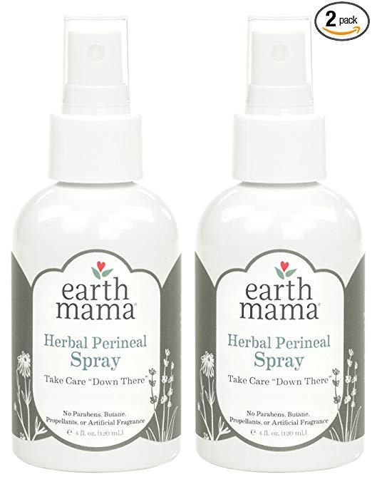 Earth mama Herbal Perineal Spray.
