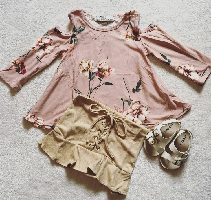 Bailey's Blossoms Baby Girl Clothing Haul