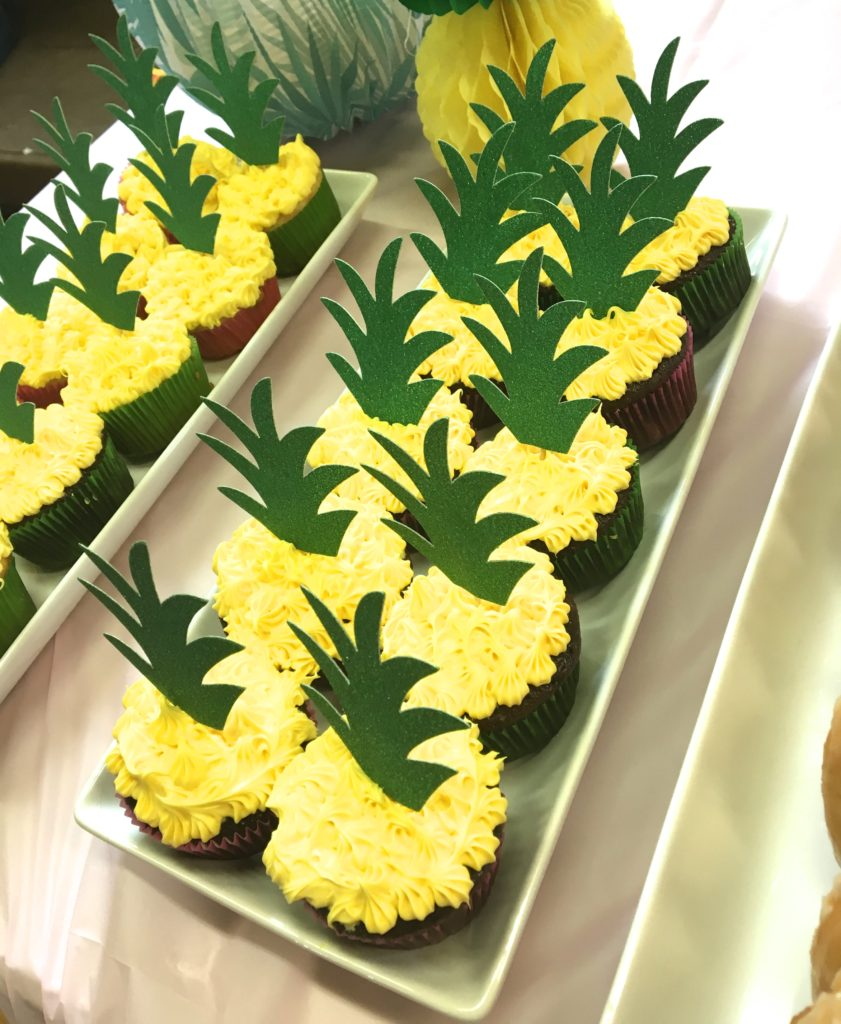 Tropical Birthday Party/Baby Shower Theme