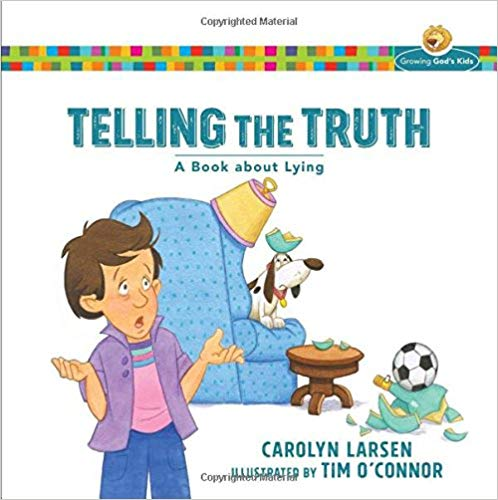 Book cover for Telling the Truth book.