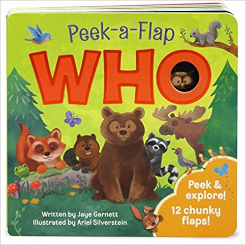 Peek-a-Flap Who book cover.