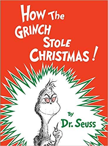 Book cover for the Grinch Stole Christmas!