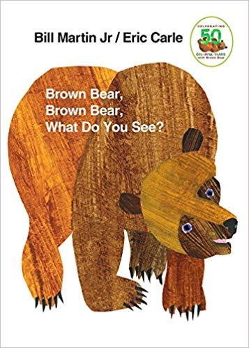 Brown Bear, Brown Bear What do You See? Book cover.