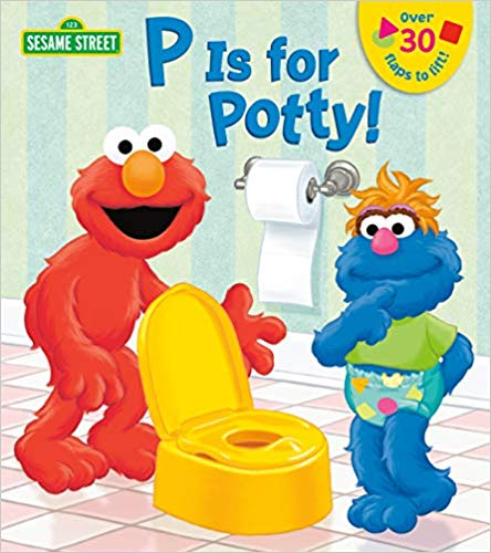 P is for Potty! baby book.
