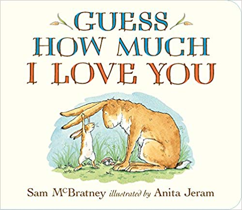 Guess How Much I Love You Children\'s Book.