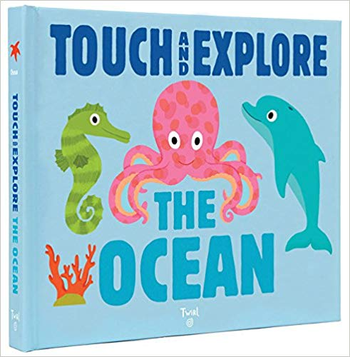 Touch and Explore the Ocean book for baby library.