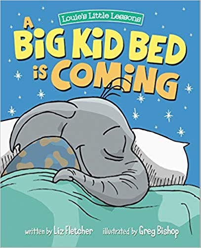 A Big Kid Bed is Coming baby book.