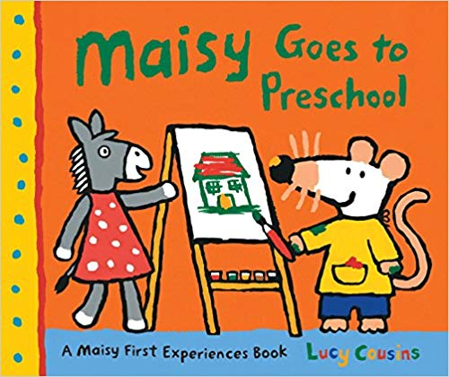 Maisy Goes to Preschool children\'s book.