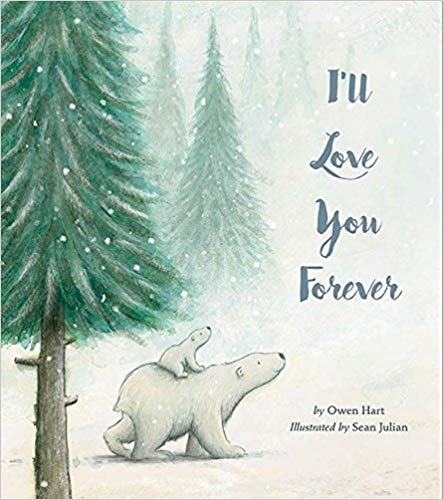 Book cover for I\'ll Love You Forever.