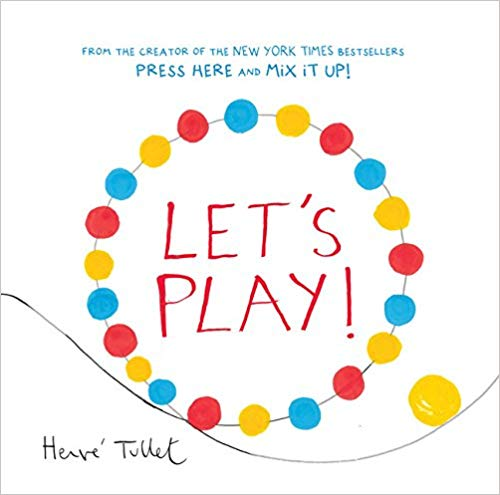 Book cover for Let\'s Play! book.